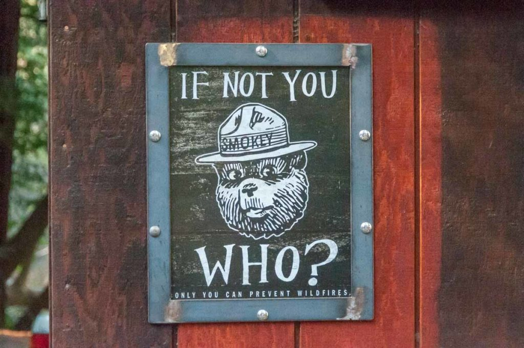 If not you who? Only you can prevent wildfires